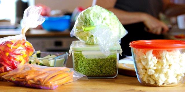 Foodprep madplan og holdbarhed af foodprepped mad