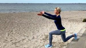 4 træningsøvelser, der strammer op i lår og baller