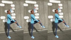 3 træningsøvelser for ryg, baller og ben uden hop