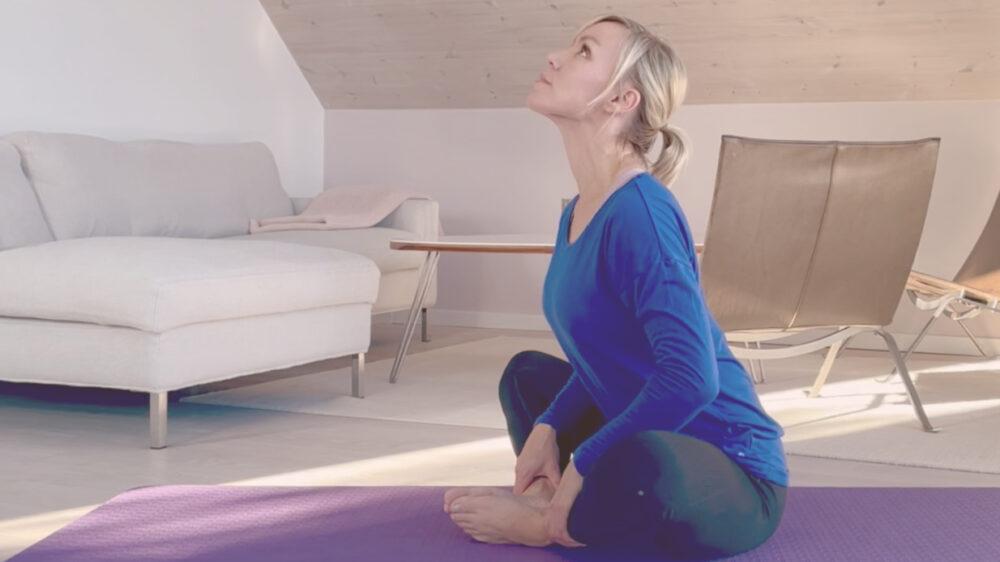 Strækøvelser for hofte og ryg